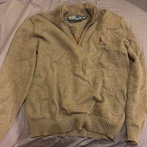 Polo by Ralph Lauren Gray Sweater Men's Medium